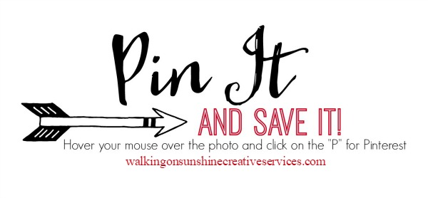 Pin It and Save It from Walking on Sunshine Creative Services